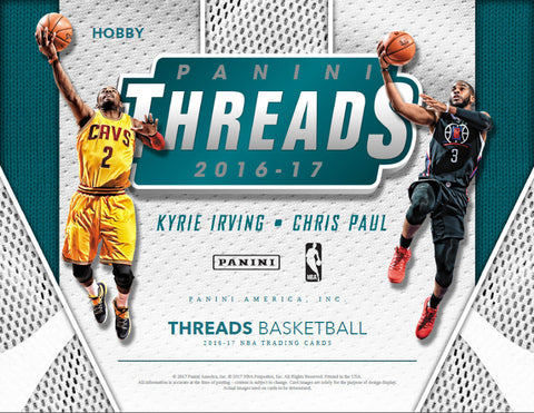 2016-17 Threads Basketball 10 Box PYT #1 FILLER #1