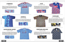 "Load image into Gallery viewer, The Football Shirts Book - ""A Connoisseurs Guide"" by Lover's F.C"