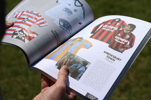 "Book: ""A Lover's Guide to Football Shirts (Soccer Jerseys)"""