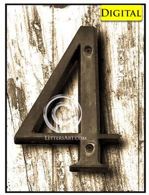 Letter Art Name Art 4 B Printable
