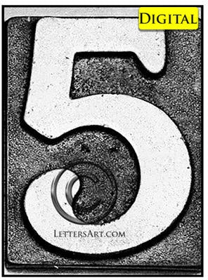 Letter Art Name Art 5 B Printable