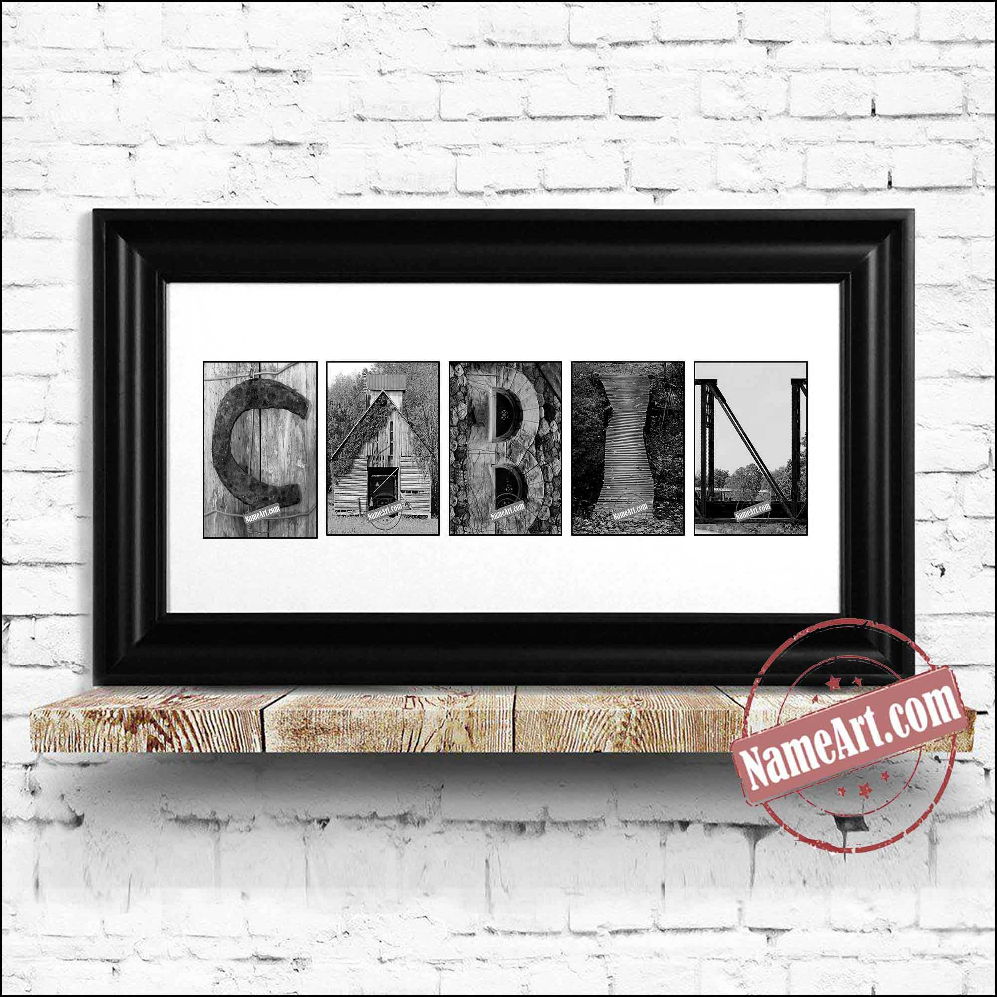 Cabin Farm Themed Wall Art