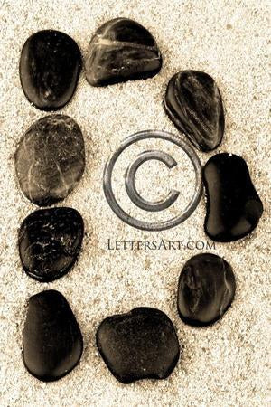 Letter Art Name Art Letter D Letter Art Printable Art Alphabet Photo Instant Download Letter D - D19
