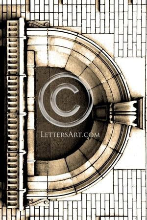 Letter Art Name Art Letter D Letter Art Printable Art Alphabet Photo Instant Download Letter D - D02