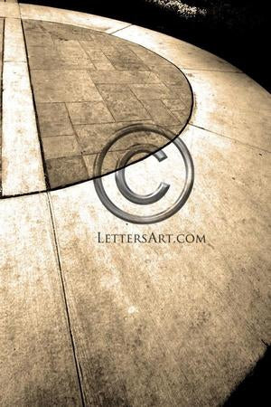 Letter Art Name Art Letter D Letter Art Printable Art Alphabet Photo Instant Download Letter D - D04