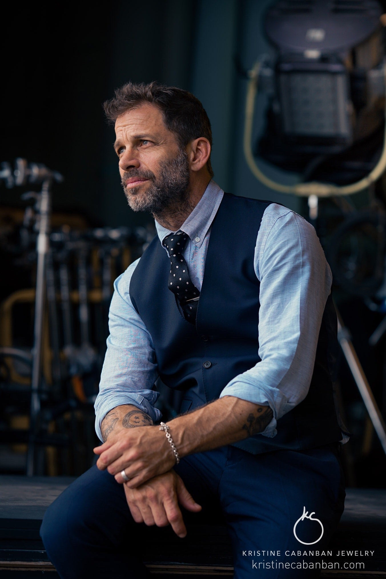 Zack Snyder Wears Special Jewelry