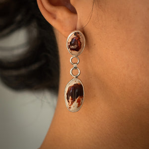 Four Flames Earrings