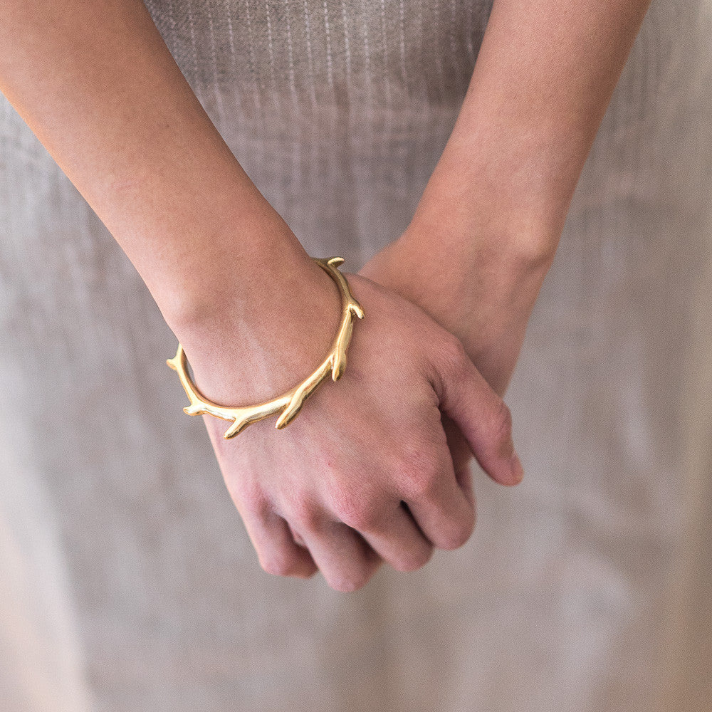 Sea Dragon Cuff - Brass