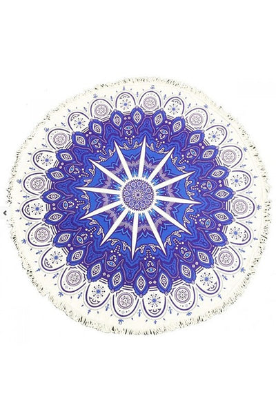 Star & Pattern Beach Blanket