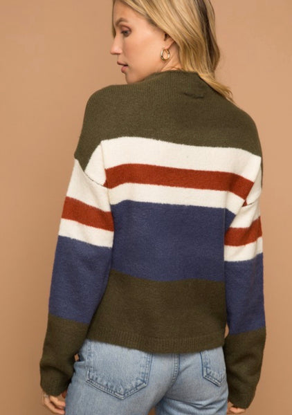 Olive Bell Sleeve Sweater