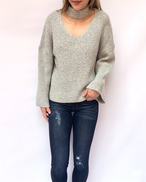 Mixed Grey Sweater