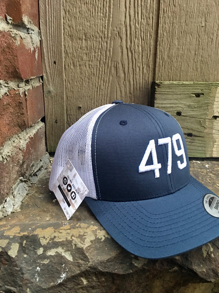 479 Trucker-Navy/White