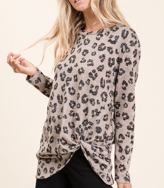 Animal Twist Top