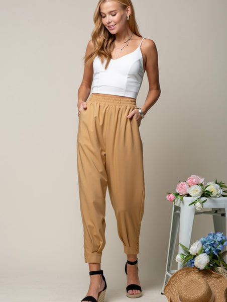 Camel Trouser Jogger Style