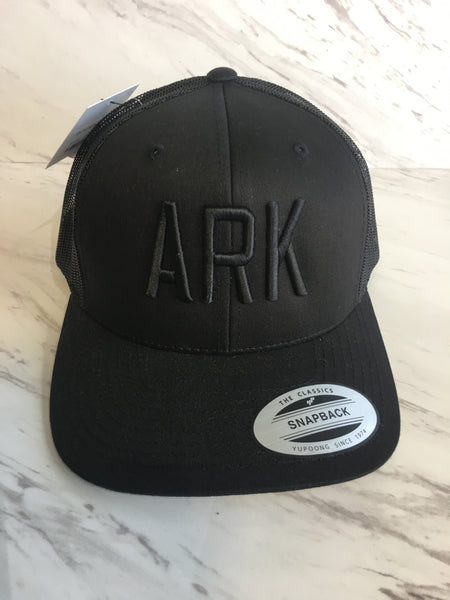 ARK Hat-Blackout Trucker