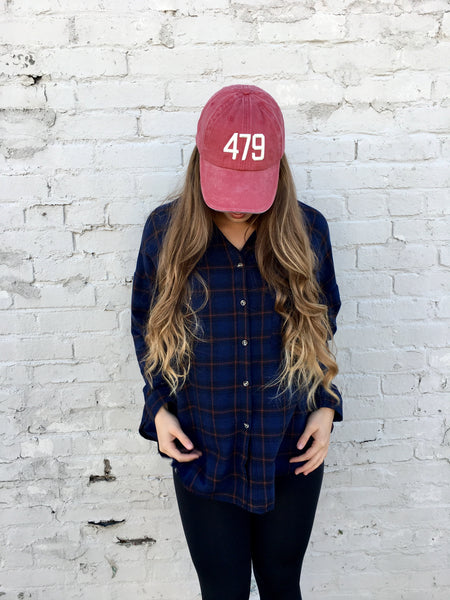 479 Hat-Red