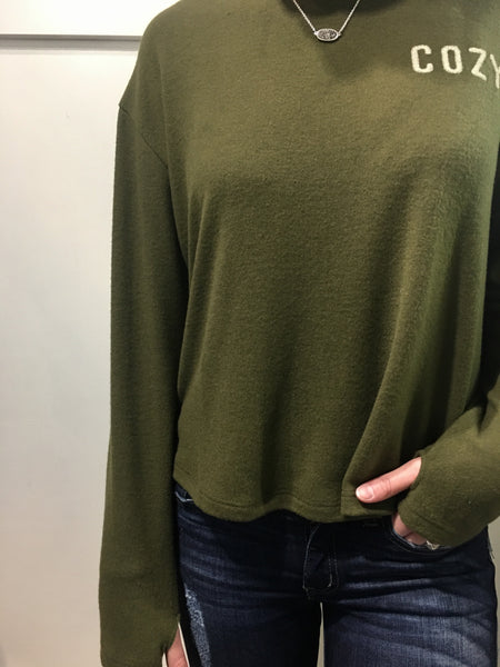 Olive COZY Sweater