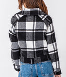 Black Plaid Jacket