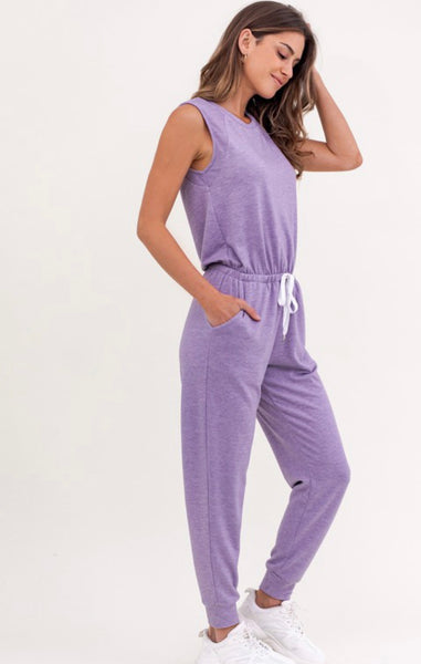 Dusty Lavender Jumpsuit