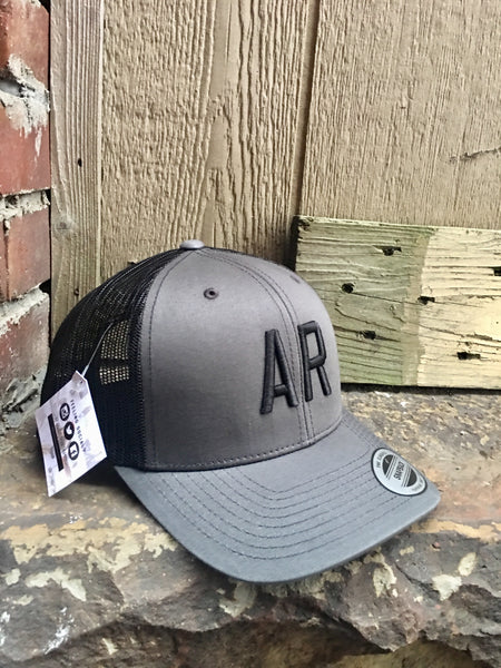 AR Trucker-Charcoal/Black