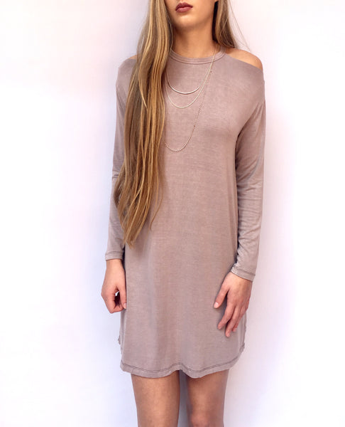 Washed Mocha Dress