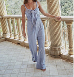Powder Blue Wild One Jumpsuit