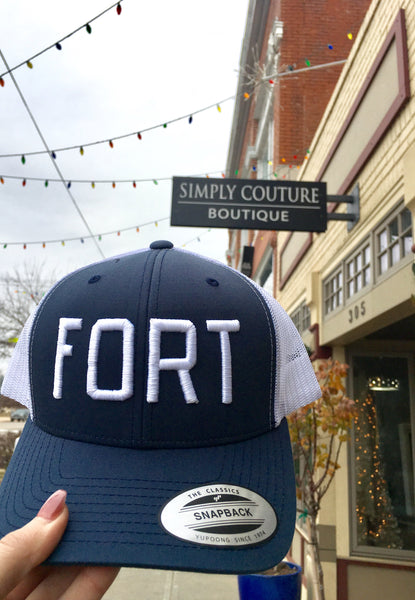 FORT Trucker-Navy/White