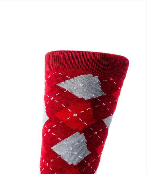 ARgyle State of Mind Team Red/Ash Grey