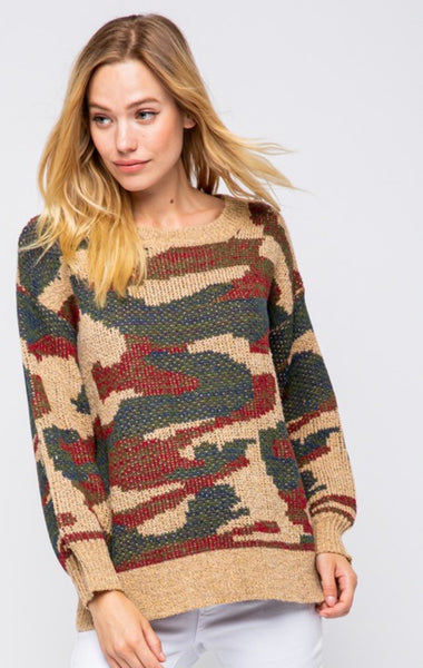 Clay Relax Camo Pullover