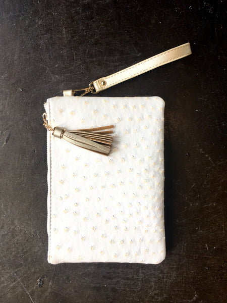 Klutch Coconut Milk Wristlet
