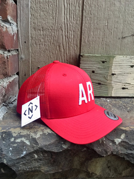 AR Trucker-Red/White