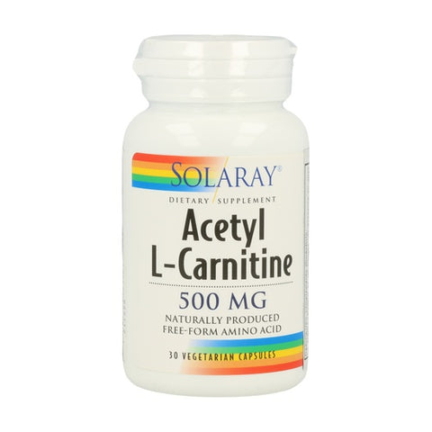 ACETYL L-CARNITINE 500mg.
