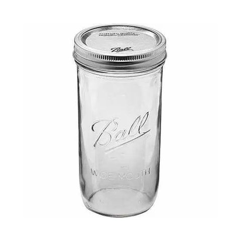 MASON JAR PINT AND HALF JAR - MASON JARS