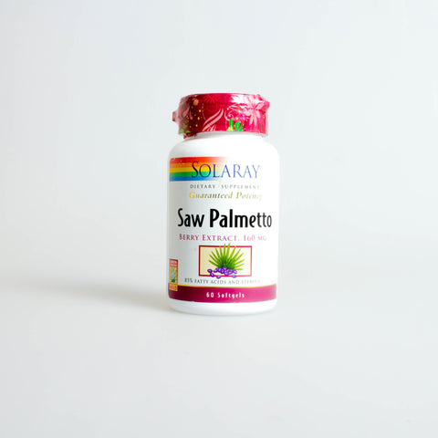 SAW PALMETO 160MG 60CAP- SOLARAY