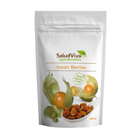 Incan Berries Enteras 200gr ECO - SALUD VIVA