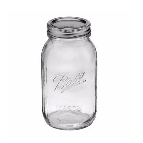 MASON JAR QUART JAR REGULAR - MASON JARS