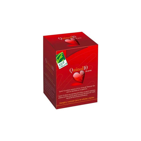 QUINOL 10 (DE UBIQUINOL) - 100% NATURAL