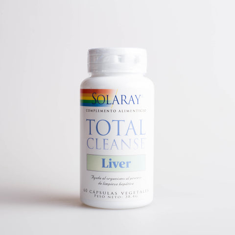 TOTAL CLEANSE LIVER, 60 CAPS - SOLARAY