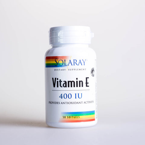 VITAMINA E  400 UI, 50 CAP - SOLARAY