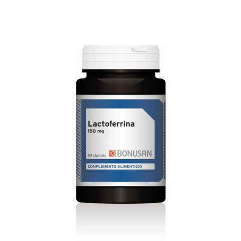 Lactoferrina 150mg 60 cápsulas, Bonusan