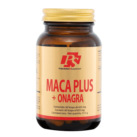 MACA PLUS + ONAGRA - PS PARAFARMACIA