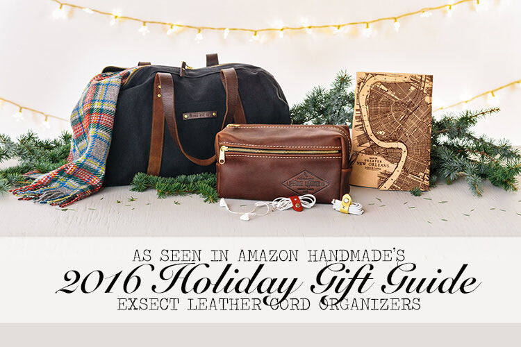 Exsect Leather Cord Organizers in the Amazon Handmade 2016 Holiday Gift Guide