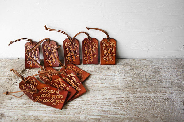 And So The Adventure Begins Luggage Tag Wedding Favors Bulk Wholesale