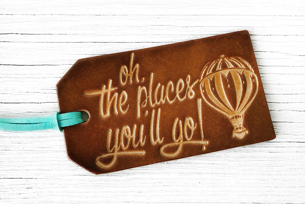 Oh The Places Youll Go Luggage Tag