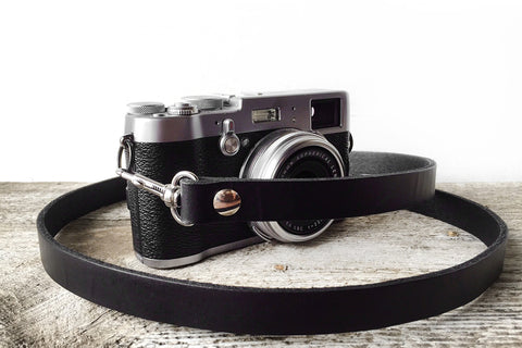 Genuine Leather Camera Strap