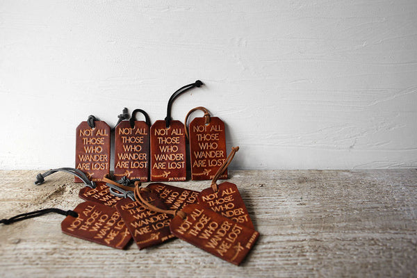Not All Those Who Wander Are Lost Luggage Tag - Exsect Inc. - 4