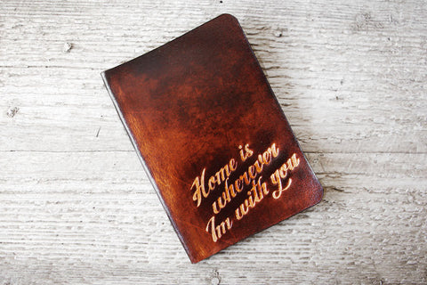 Home Is Wherever Im With You Passport Cover - Exsect Inc. - 1