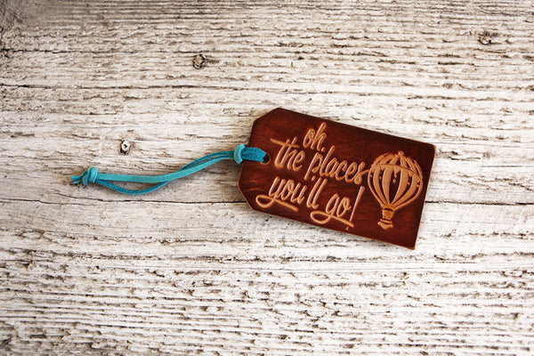 Oh The Places Youll Go Luggage Tag - Exsect Inc. - 2