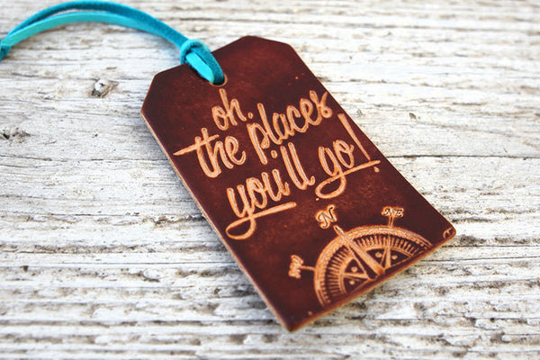 Dr Seuss Quote Luggage Tag - Exsect Inc. - 1