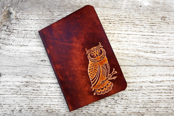 Genuine Leather Owl Travel Wallet - Exsect Inc. - 3